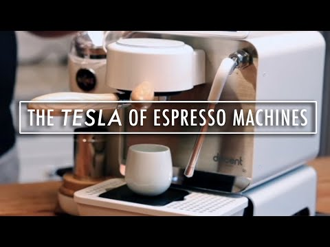 IS THIS THE FUTURE OF ESPRESSO MACHINES?: Introduction to the Decent Espresso Machine