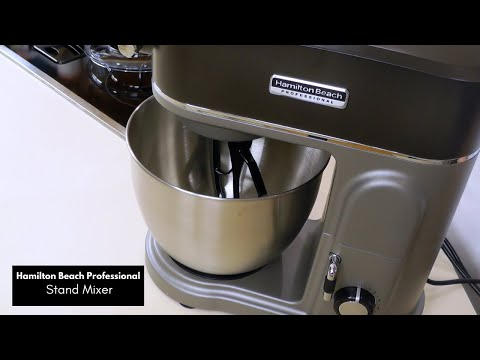 Hamilton Beach Professional Stand Mixer Unboxing | 5 quarts 450 watts | What's Up Wednesday!