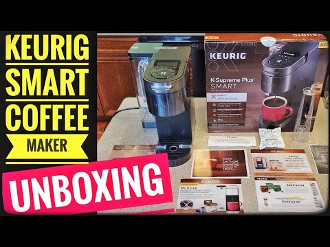 UNBOXING Keurig K Supreme Plus SMART Single Serve K Cup Coffee Maker NEW 2021