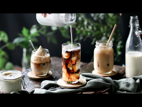 The best vegan ICED COFFEE recipes ☀️