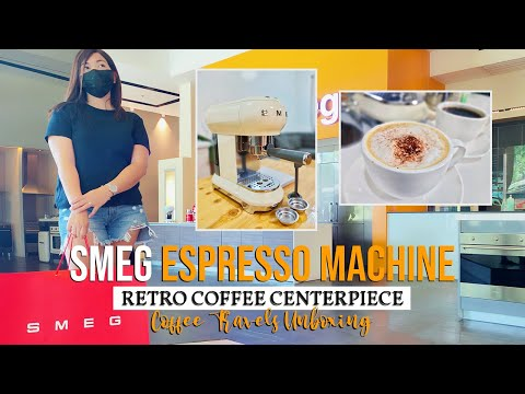 SMEG Espresso Machine – A Stylish, Home Buddies Coffee Nook Must Have (Unboxing, How-to and Review)