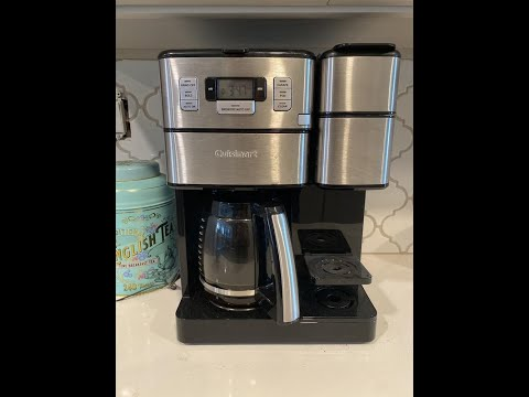 Cuisinart SS-GB1 Coffee Center Grind & Brew REVIEW BIG DISCOUNT!