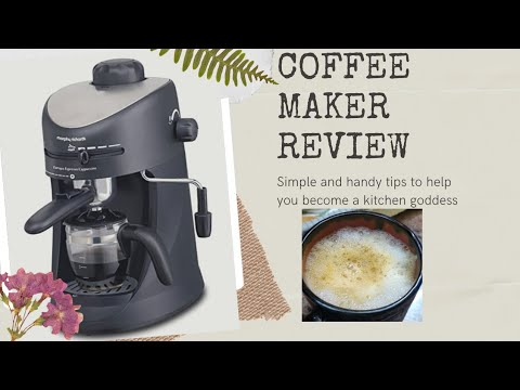Morphy Richards Coffee maker review and demo || Cappacino expresso  coffee||  Review for cafe lovers