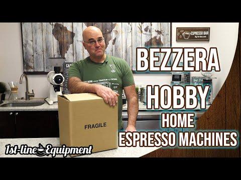 Bezzera Hobby Home Espresso Machines