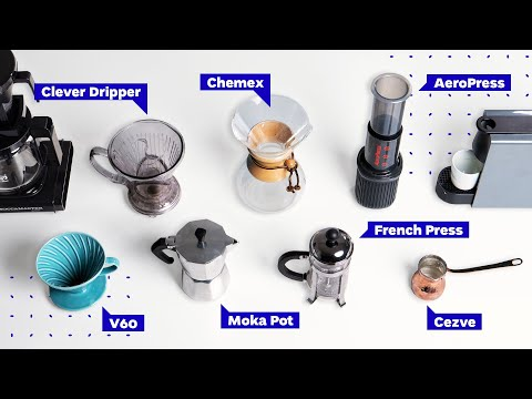 Coffee Brewing Methods: French Press vs Pour Over vs AeroPress and more!