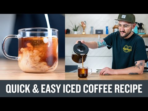 A Quick & Easy Iced Coffee Recipe