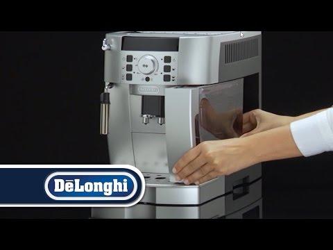De'Longhi ECAM Fully Automatic Espresso/Cappuccino Machine: How to Get Started