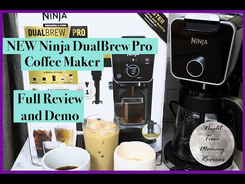 NEW Ninja DualBrew Pro Coffee Maker – Full Review and Demo