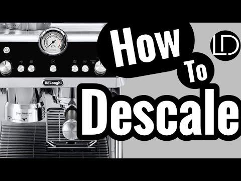 How To DESCALE! Delonghi La Specialista EC9335M