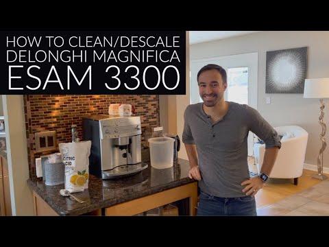 How to Descale DeLonghi Magnifica Esam 3300