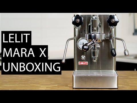 NEW ESPRESSO MACHINE!!! Lelit Mara X (PL62X) Unboxing & First Steps