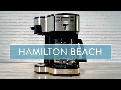 Using a Hamilton Beach Coffee Maker