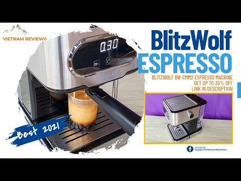 BlitzWolf BW-CMM2 Espresso Machine – Best Value 2021