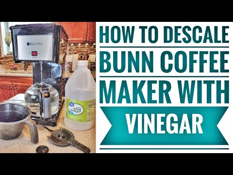 HOW TO DESCALE Bunn Speed Brew Classic /  Velocity GRB Coffee Maker