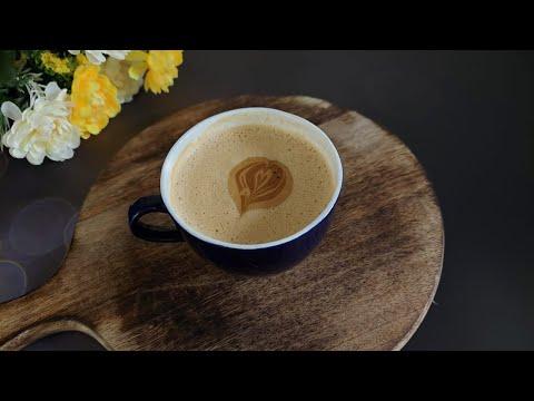 Cappuccino Recipe in Tamil   Beaten Coffee Recipe   Cappuccino without Machine   @JeyRe's Kitchen