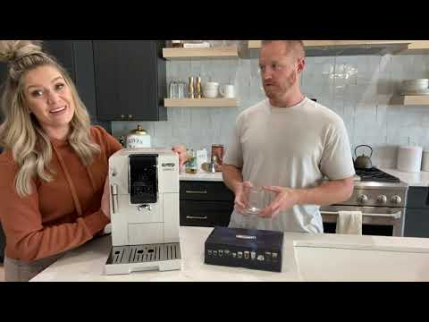 Delonghi Dinamica Review and How To Make a Latte with it!