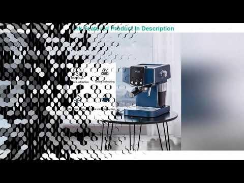 Espresso Coffee Maker Machine Coffee Machine 15Bars Semi-Automatic Milk Froth Review