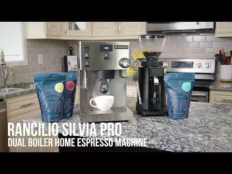 The Rancilio Silvia Pro Espresso Machine