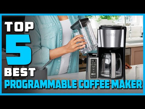 Best Programmable Coffee Makers Buying Guide – Top 5 Review [2021]