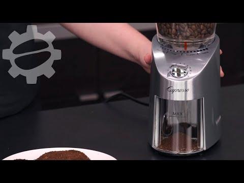 Capresso Infinity Plus Coffee Grinder | Crew Review