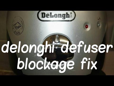 How To Fix A Delonghi Espresso Diffuser.