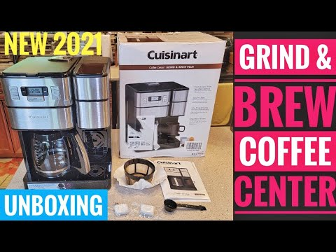 UNBOXING Cuisinart 12 Cup Coffee Center Grind & Brew Plus Coffee Maker SS-GB1 New 2021