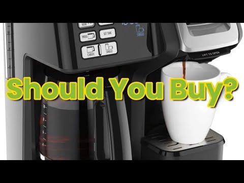 Review Hamilton Beach 49976 FlexBrew Trio 2-Way Single Serve Coffee Maker & Full 12c Pot