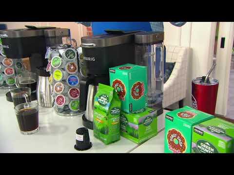 Keurig K-Duo Plus Coffee Maker w/ Ground Coffee, My Kcup & 24 K-cups on QVC