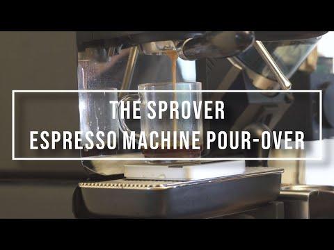 The Sprover (Espresso Machine Pour Over Style Coffee)