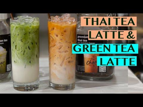 HOW TO BREW TEA USING AN ESPRESSO MACHINE: RECIPES FOR THAI TEA LATTE AND JASMINE GREEN TEA LATTE