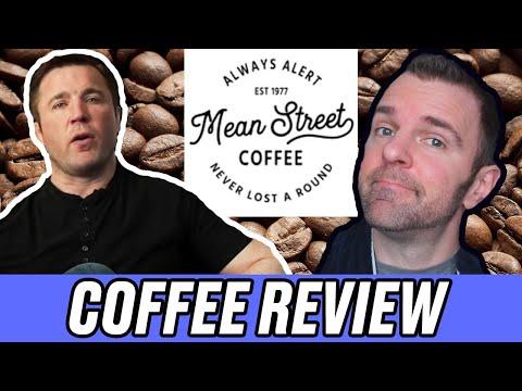 Chael Sonnen ☕ Mean Street Coffee Review 📝