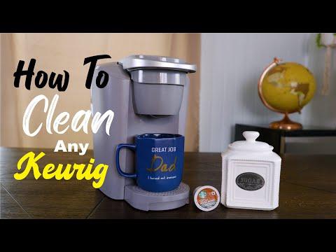 How To Clean Keurig Pod Coffee Machine Easy Simple