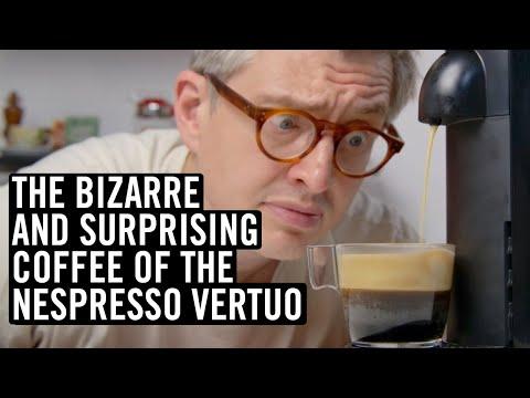 The Bizarre And Surprising Coffee Of The Nespresso Vertuo
