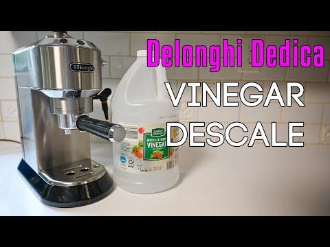 Descale DeLonghi Dedica EC680/EC685 Vinegar Descale Cycle | 2021 Update