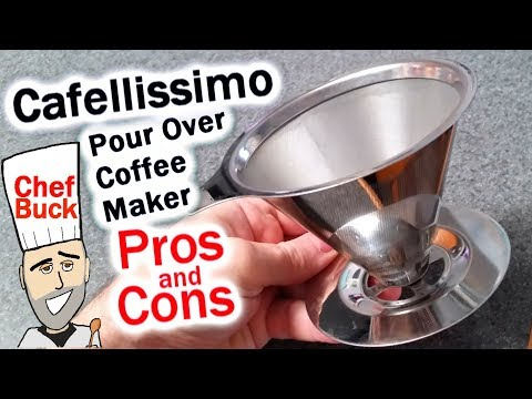 Cafellissimo Review – Paperless Pour Over Coffee Filter