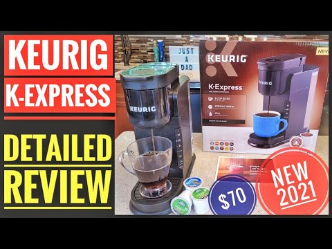 DETAILED REVIEW Keurig K-Express Single Serve K-Cup Coffee Maker NEW 2021 K26
