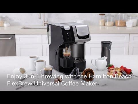 Hamilton Beach FlexBrew Universal Coffee Maker, 49930