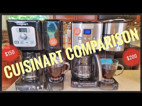 CUISINART COFFEE CENTER SS-15P1 VS Brew Basics SS-12 Coffee Maker K-Cup Duo Brewer Review