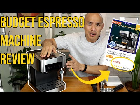Best Budget Espresso Machine Review from Lazada and Shopee? The CM8363