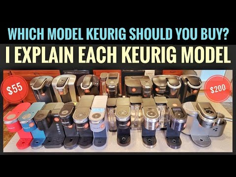 What Model Of Keurig Coffee Maker Should You buy?  Every Keurig Model Explained & Compared